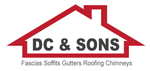 DC and Sons Roofers Logo