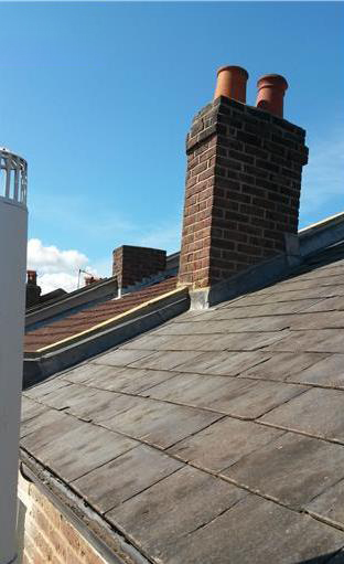 chimneys repaired & replaced by DC & Sons Camberley