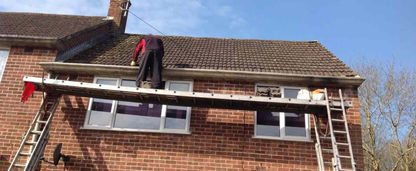 guttering clean repair replace camberley