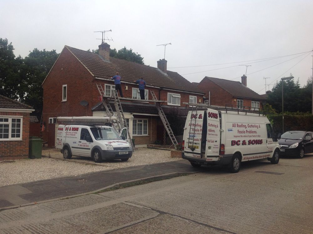 DC and Sons fascia & soffits Camberley