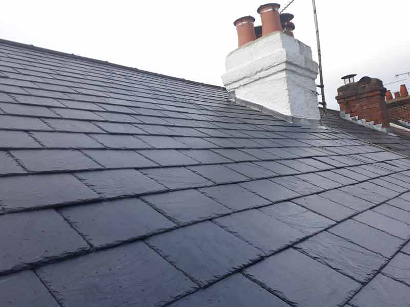 roof tile and chimney replacements