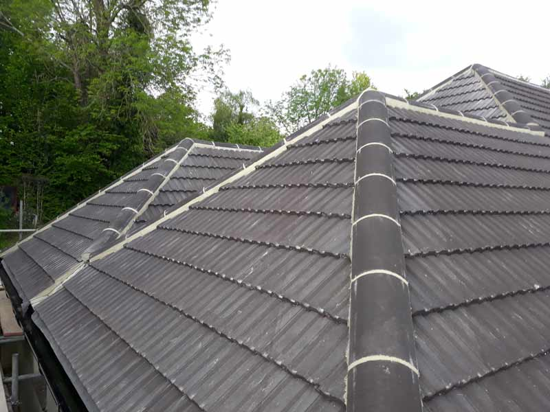 Entire roof replacement by DC and Sons